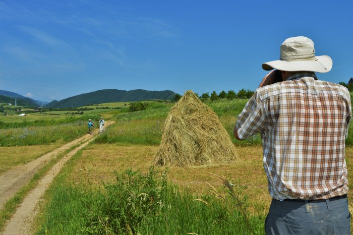 Guided walks in the Romanian countryside